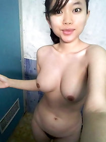 All-natural asian hellcats are masturbating